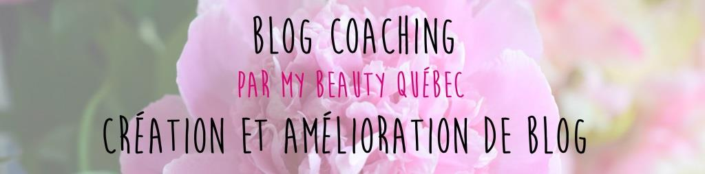 Blog Coaching par My Beauty Québec